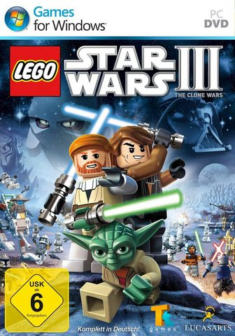 LUCAS ARTS Lego Star Wars 3: The clone Wars PC