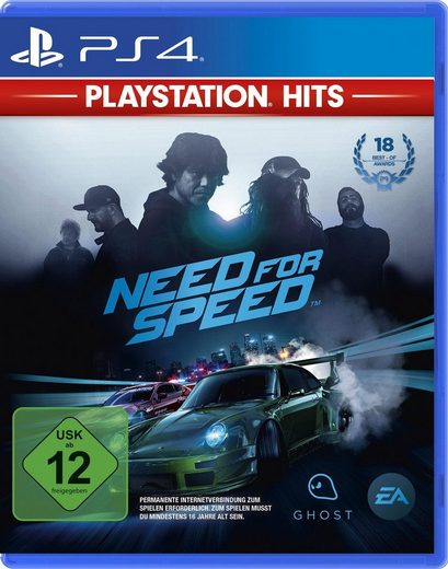 Need for Speed PlayStation 4, Software Pyramide