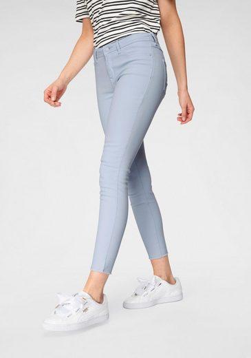 JACQUELINE de YONG Ankle-Jeans »JDYNEW FIVE« mit ausgefransten Säumen