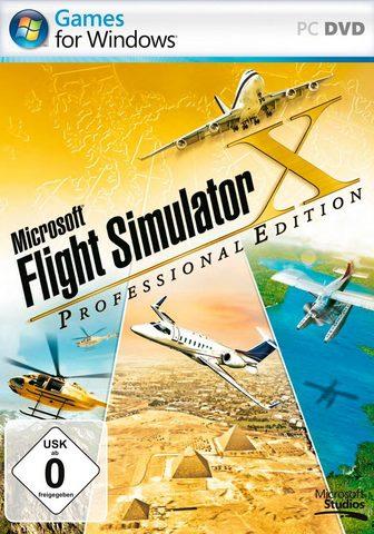 MICROSOFT Flight Simulator X Professional Editio...