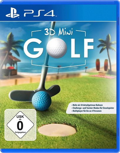 3D Mini Golf PlayStation 4, Software Pyramide