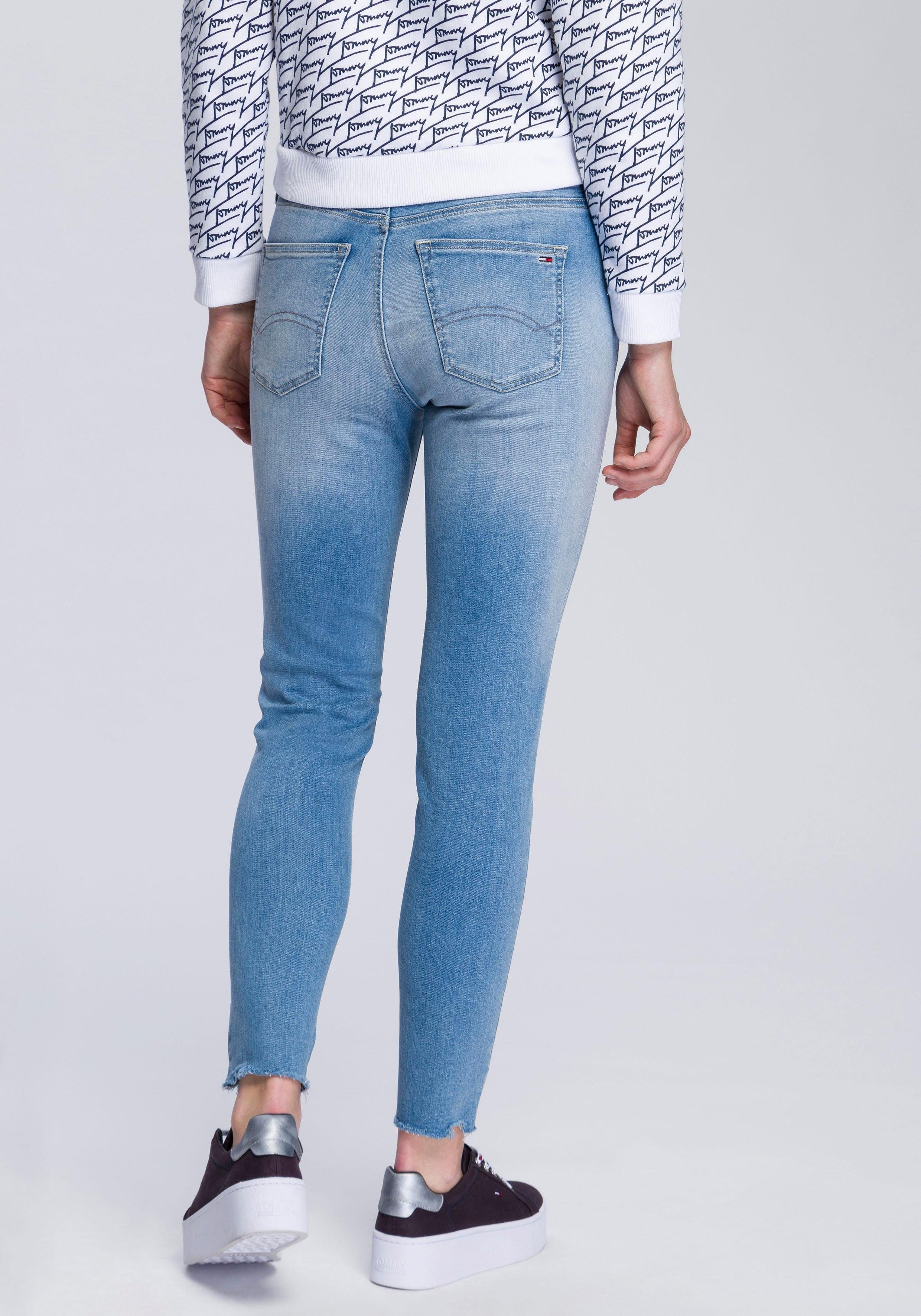 Tommy Jeans Jeans »MID RISE SKINNY NORA 7/8 SPL«