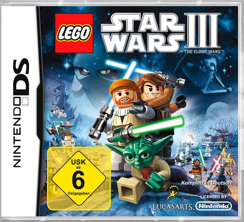 Lego Star Wars 3: The Clone Wars Nintendo 3DS, Software Pyramide