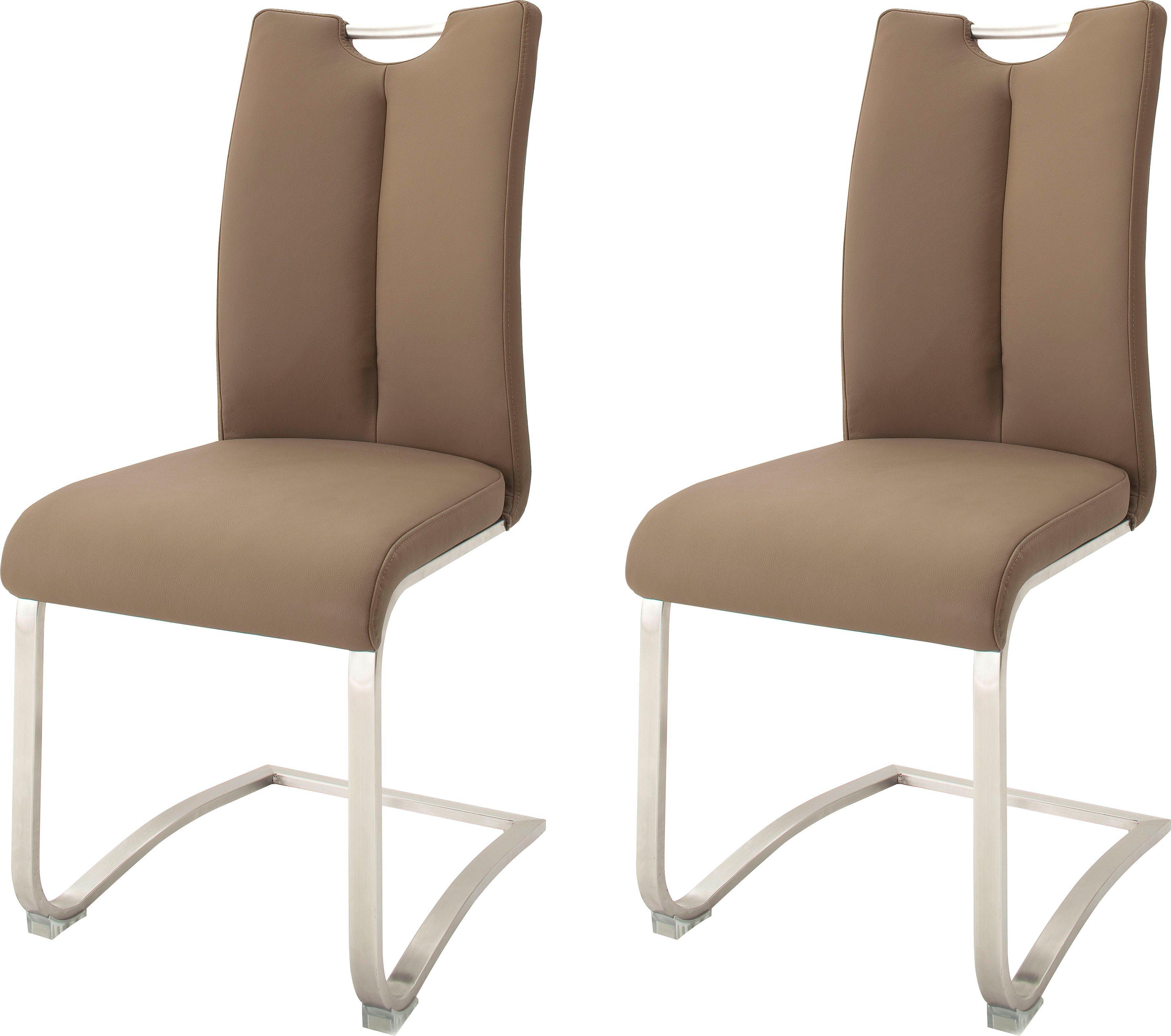MCA furniture Freischwinger »Artos« 2er Set, Stuhl mit Echtlederbezug, bis 140 Kg belastbar online kaufen   OTTO