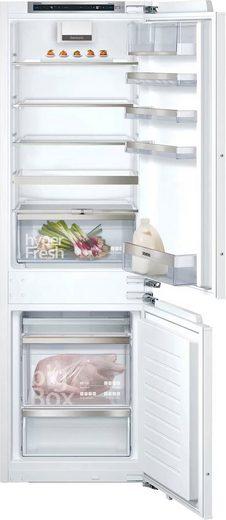 SIEMENS Einbaukühlgefrierkombination iQ500 KI86SADD0, 177,2 cm hoch, 55,8 cm breit