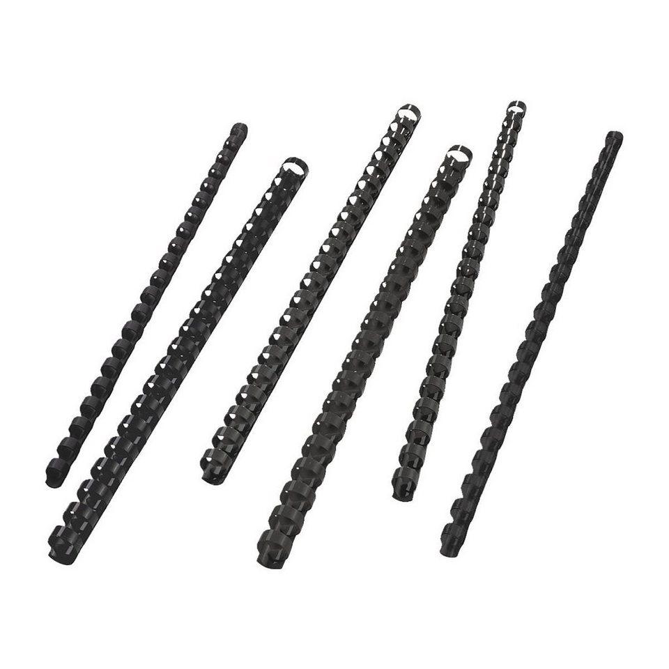 OTTO Office Standard Plastikbinderücken in schwarz