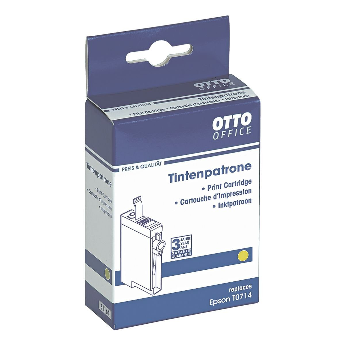 OTTO Office Tintenpatrone ersetzt Epson »T0714«
