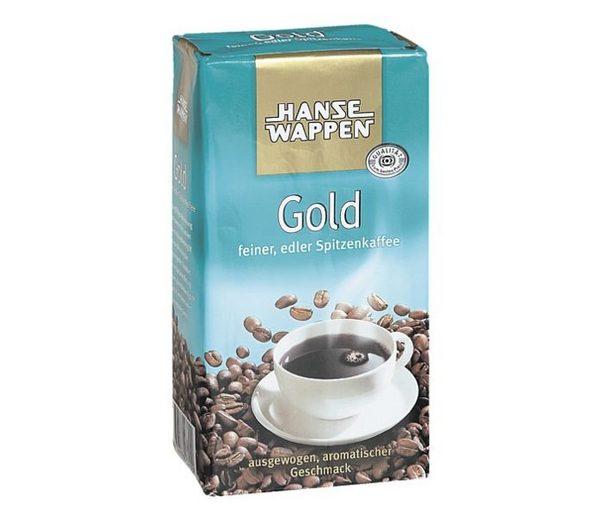 HANSEWAPPEN Kaffee - gemahlen »Gold«