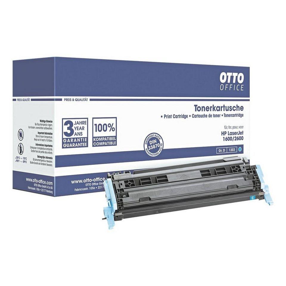OTTO Office Standard Tonerpatrone ersetzt HP »Q6001A« Nr. 124A