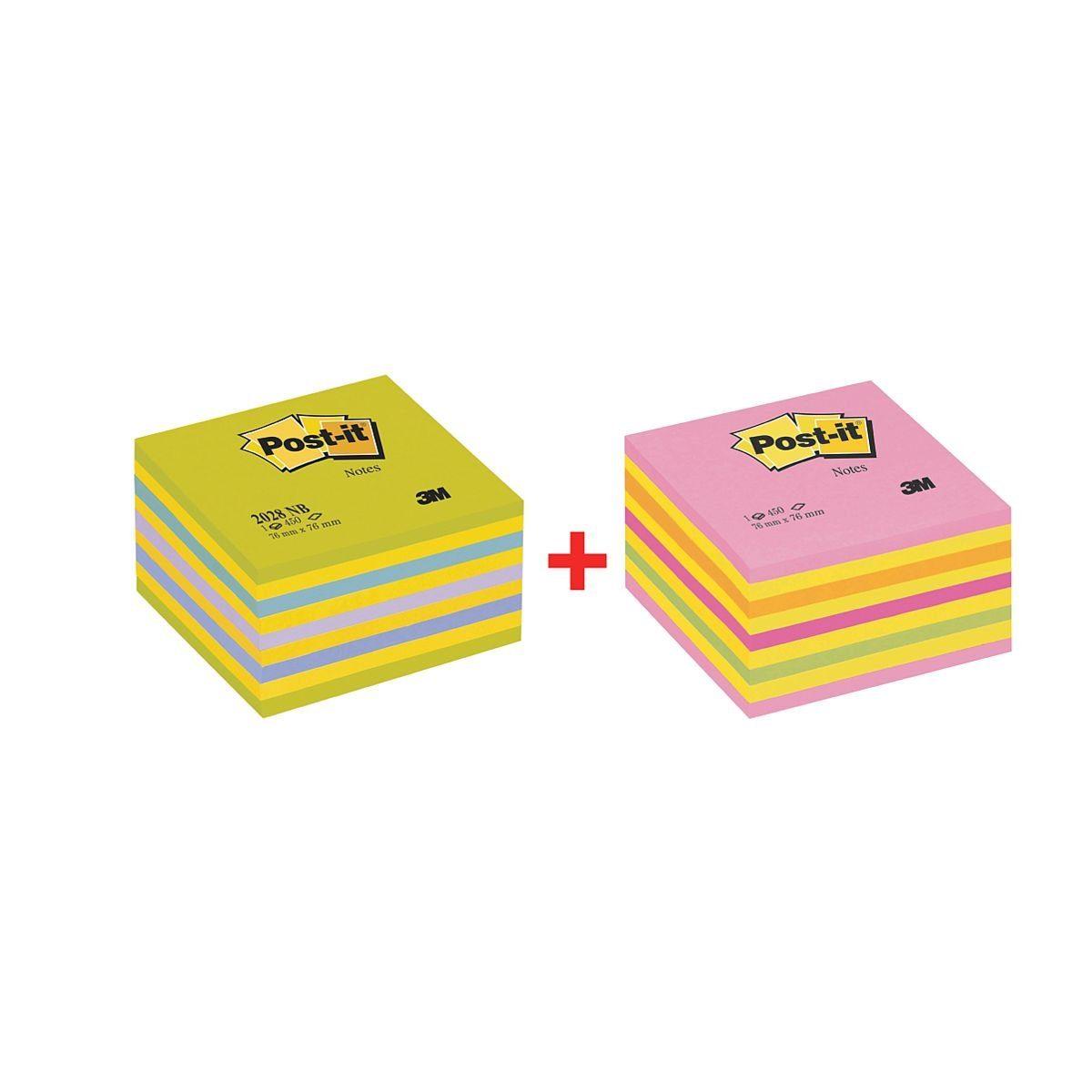 Post-it Notes Doppelpack Haftnotizwürfel »2028NX2«