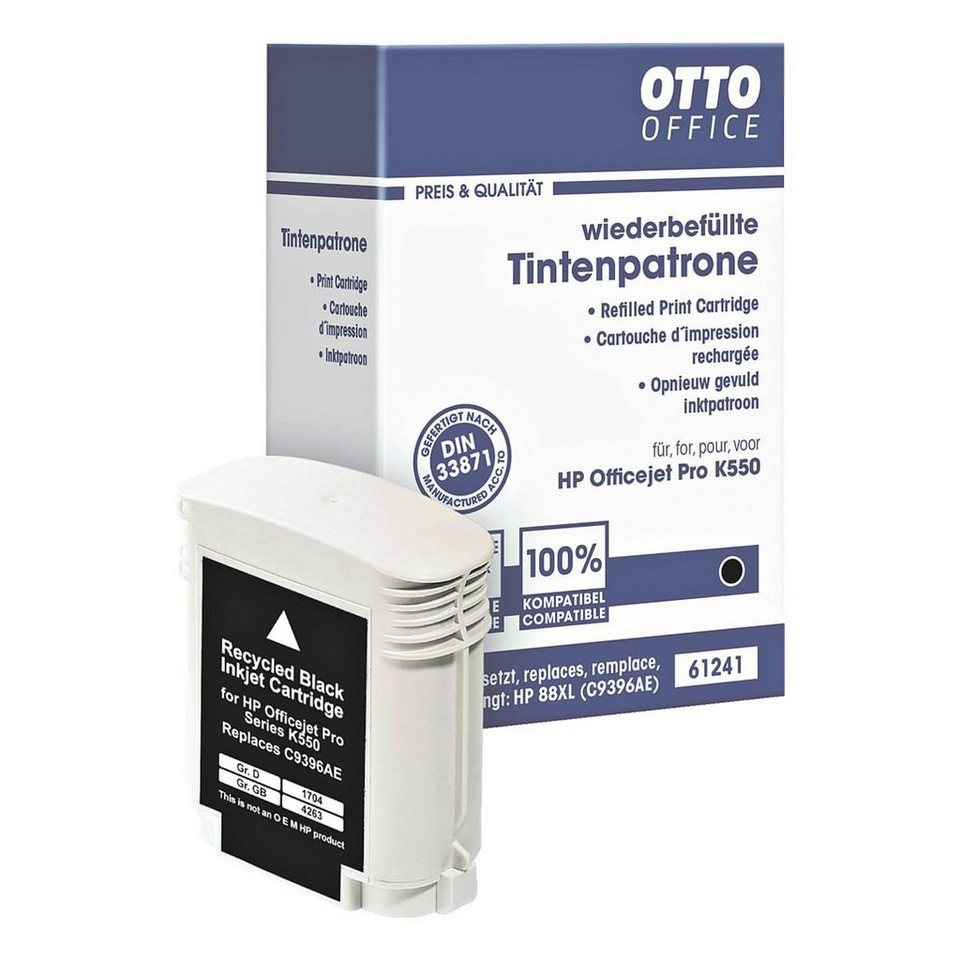 OTTO Office Standard Tintenpatrone ersetzt HP »C9396AE« Nr. 88XL in 61241