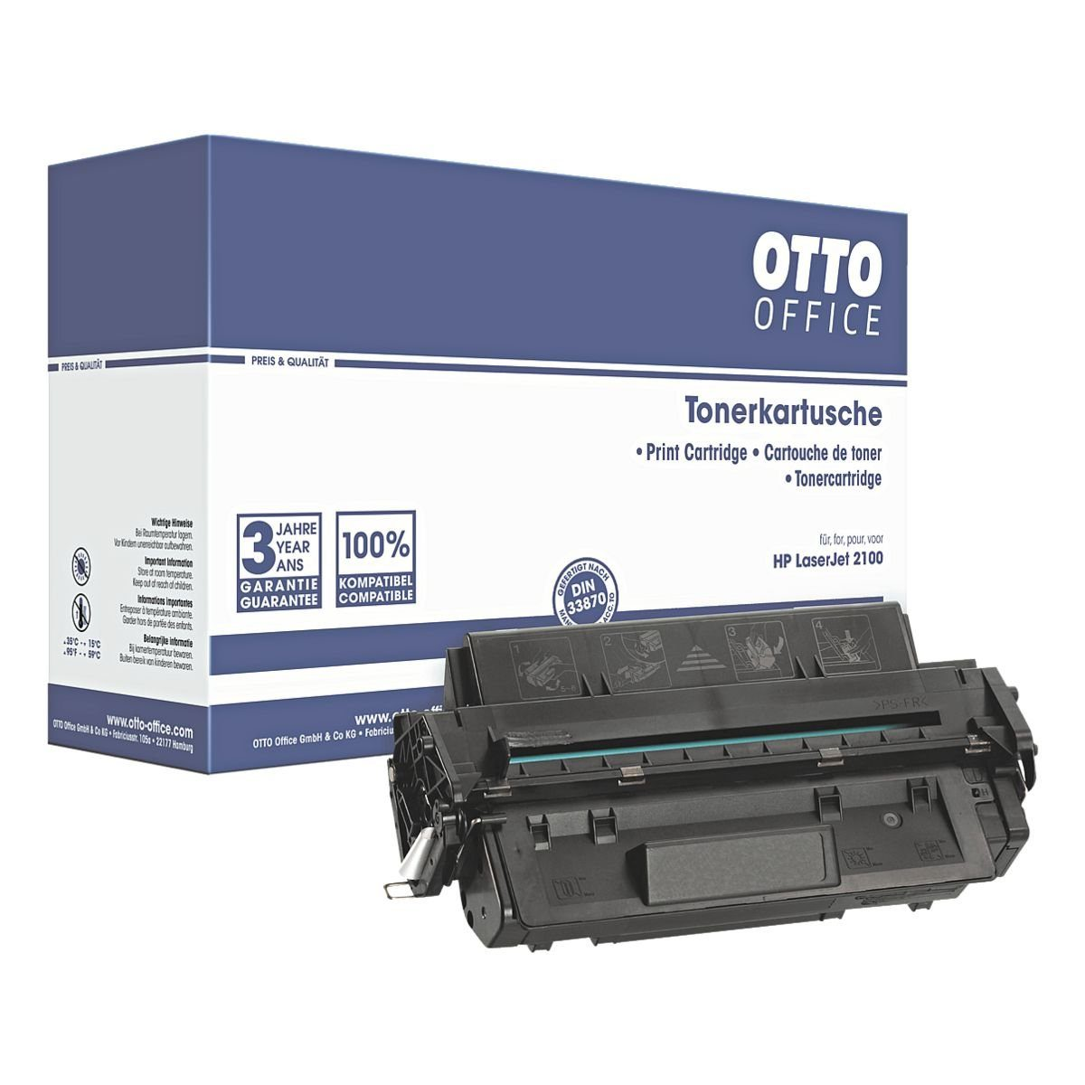 OTTOOFFICE STANDARD Druckkassette ersetzt HP Nr. 96A »C4096A«