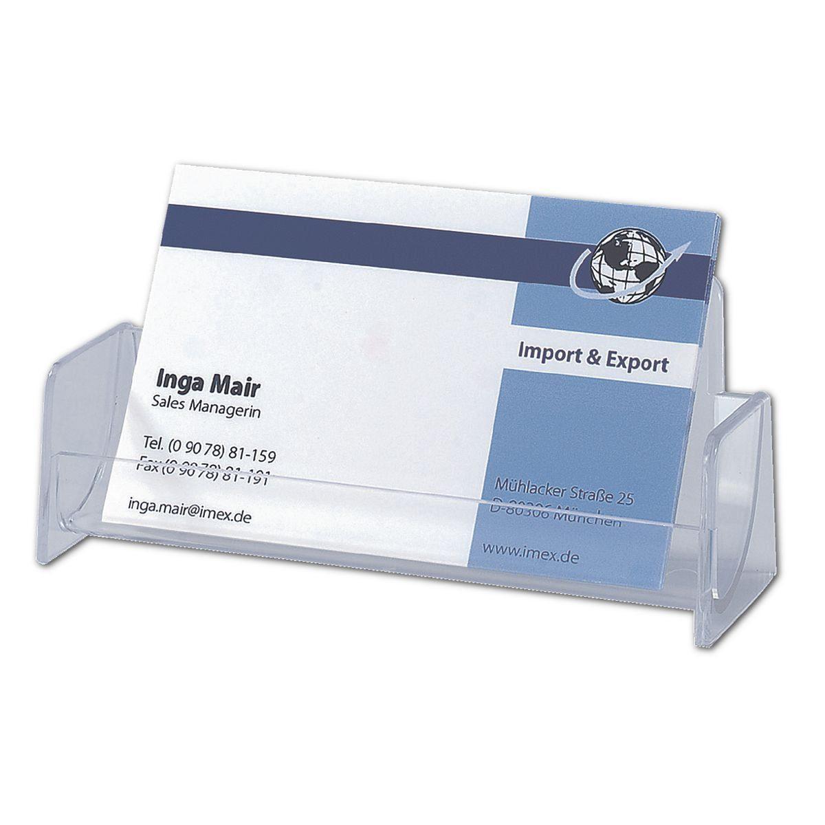 Sigel Visitenkartenaufsteller VA120