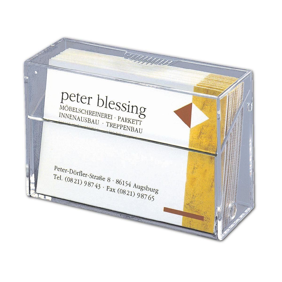 Sigel Visitenkartenbox VA110