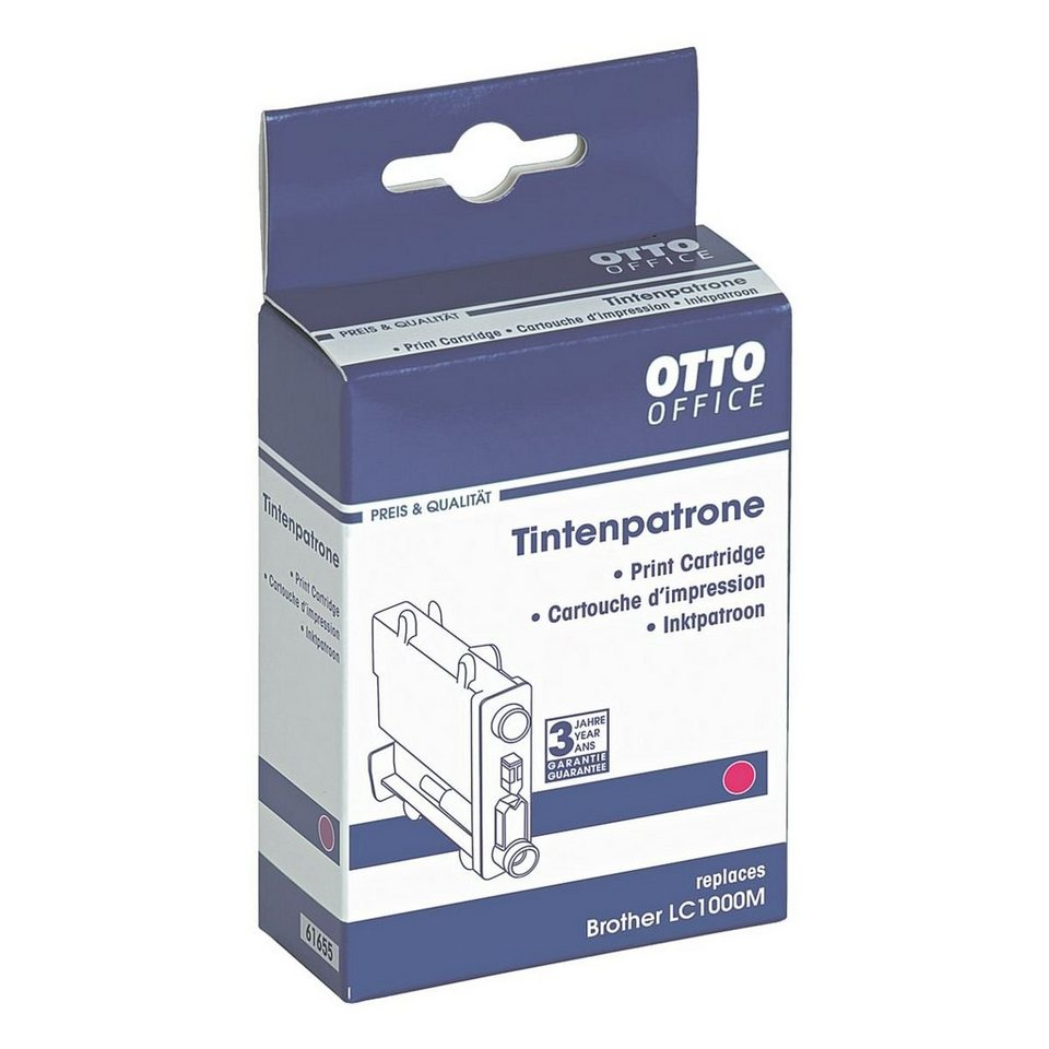 OTTO Office Standard Tintenpatrone ersetzt Brother »LC1000M«