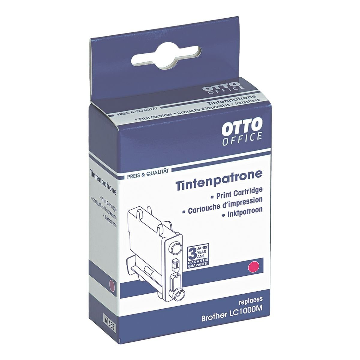 OTTO Office Standard Tintenpatrone ersetzt Brother »LC1000M«