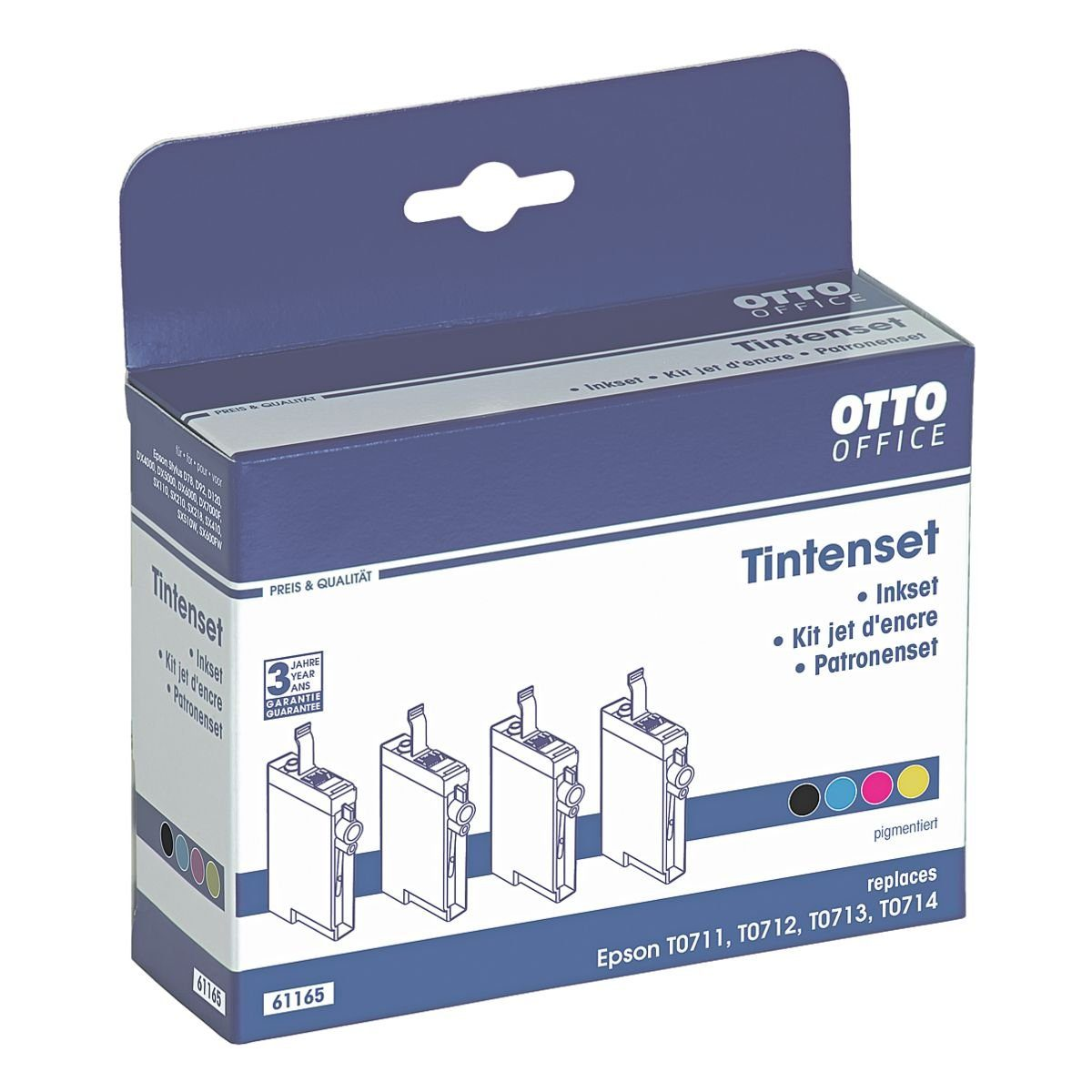 OTTO Office Tintenpatronen-Set ersetzt Epson »T0715«