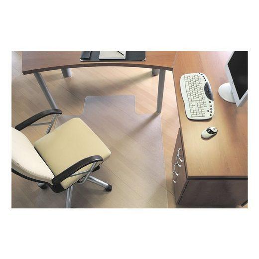 RSOFFICE Bodenschutzmatte 120x150 cm, Rechteck mit Lippe, für Hartboden »Rollsafe«