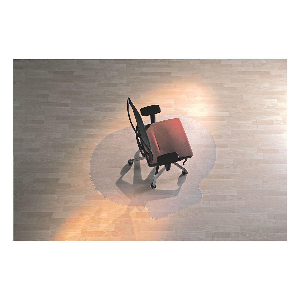RSOFFICE Bodenschutzmatte 120x150 cm, Oval mit Lippe, für Hartboden »Rollsafe«