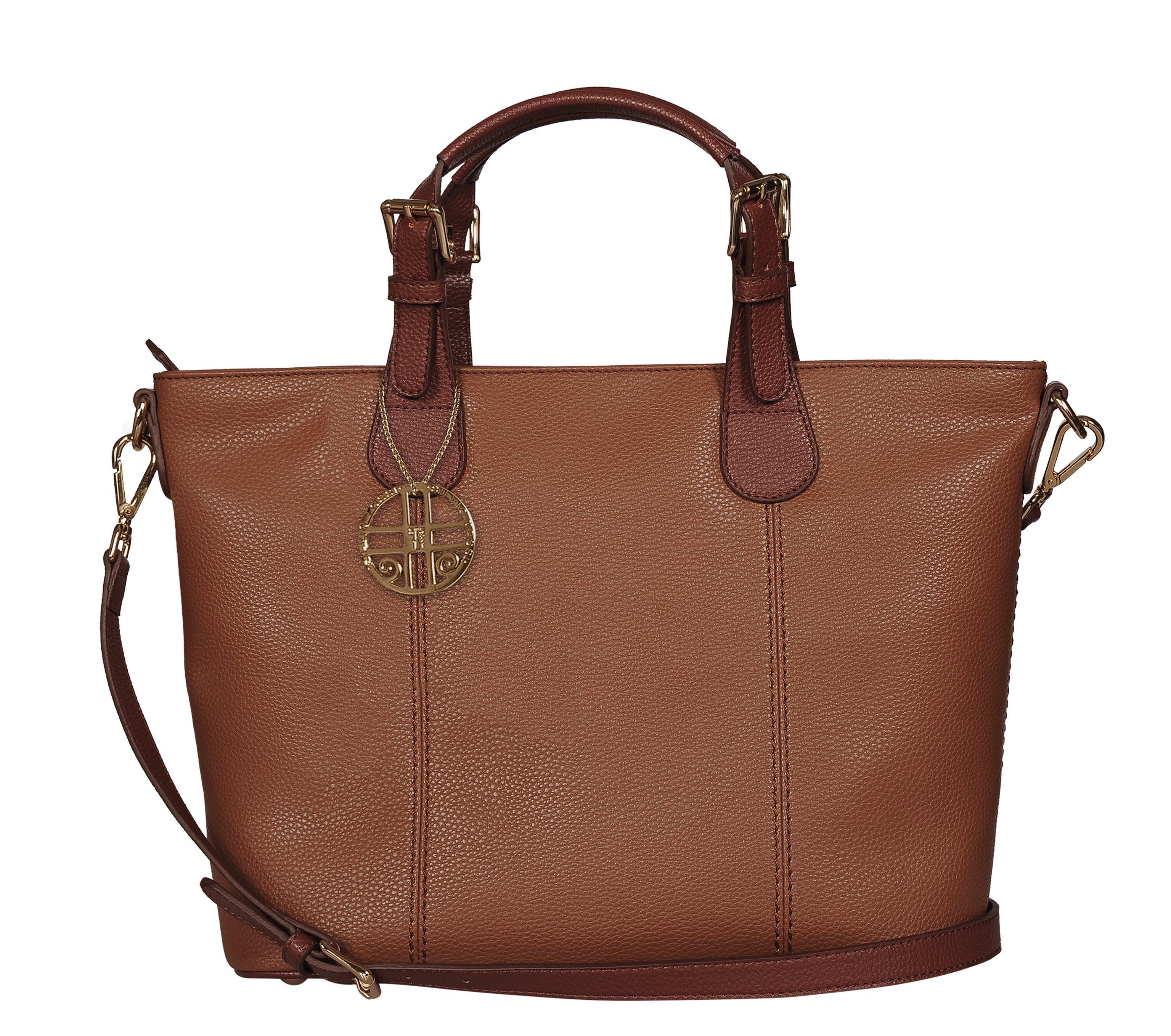Silvio Tossi Handtasche mit extra Spezialschutz