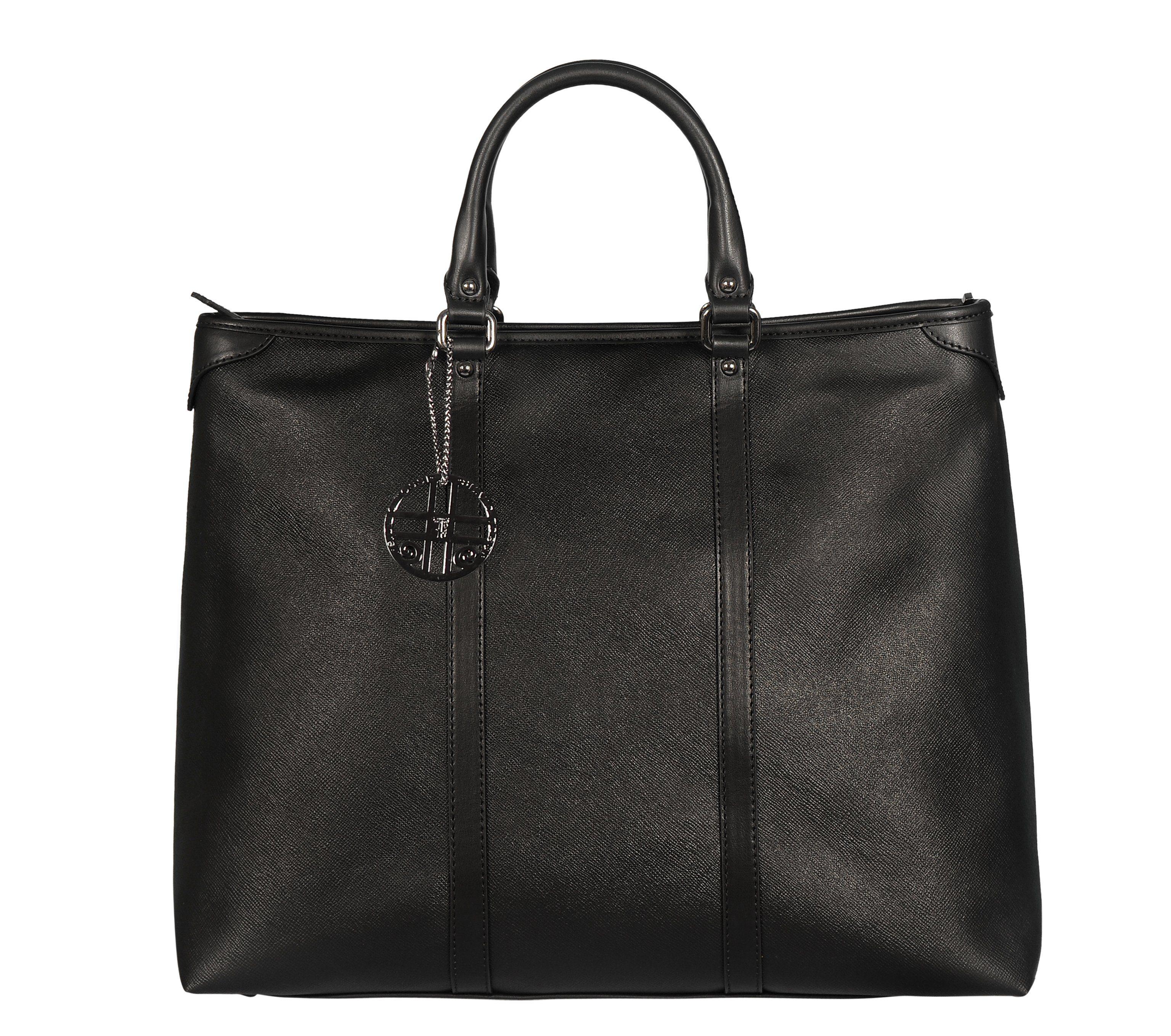 Silvio Tossi Handtasche im Saffian-Design