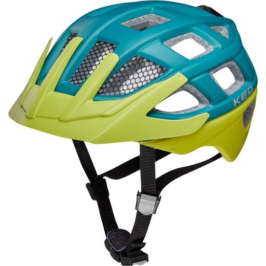 KED Helmsysteme Fahrradhelm Kailu, blau-grün (matt)