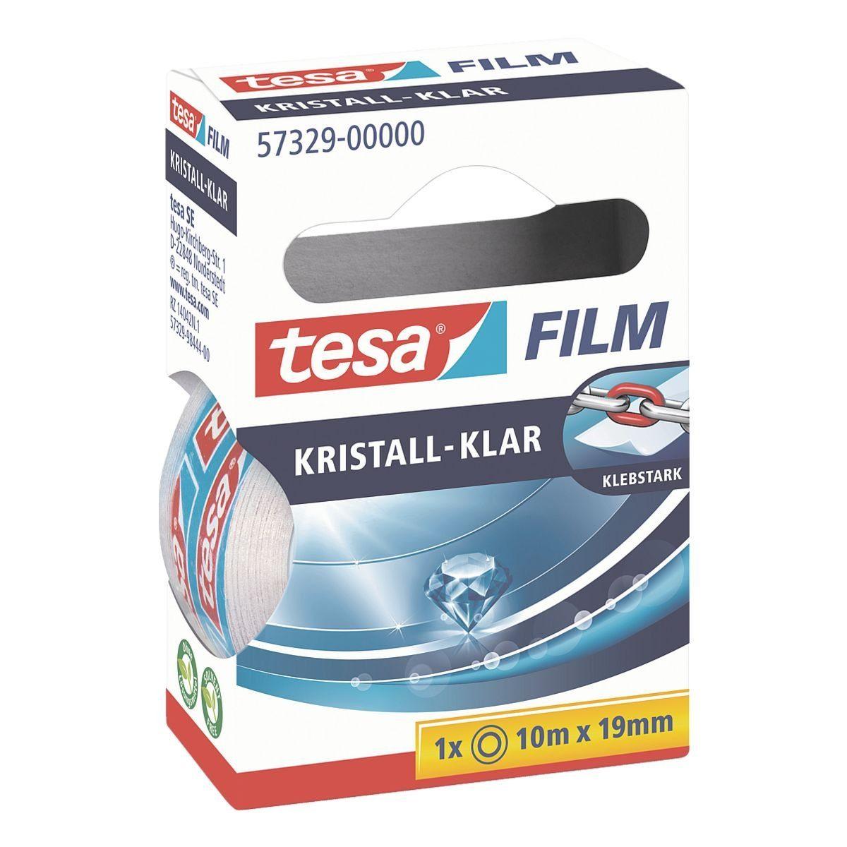 Tesa Klebeband »kristall-klar«