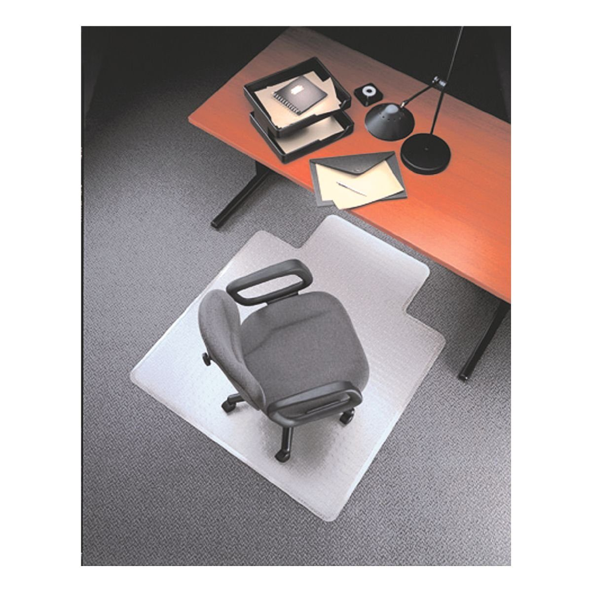 OTTO Office Standard Bodenschutzmatte 120x134 cm Form L für Teppichboden