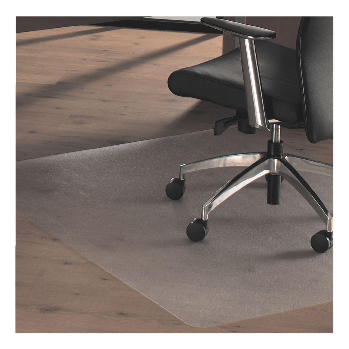 OTTOOFFICE STANDARD Bodenschutzmatte 120x134 cm, Rechteck mit Lippe, für Har...