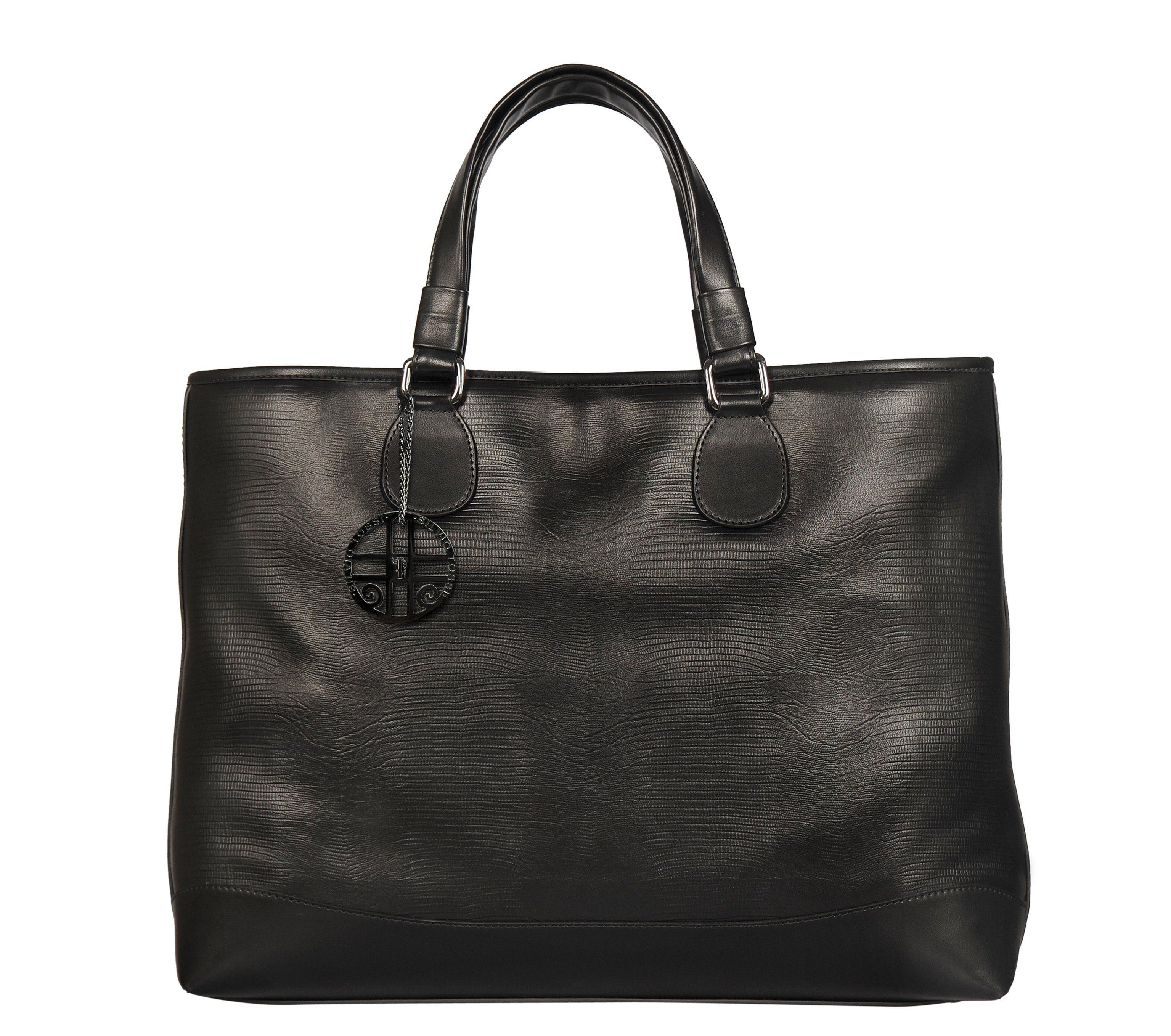 Silvio Tossi Tasche im Echsen-Design