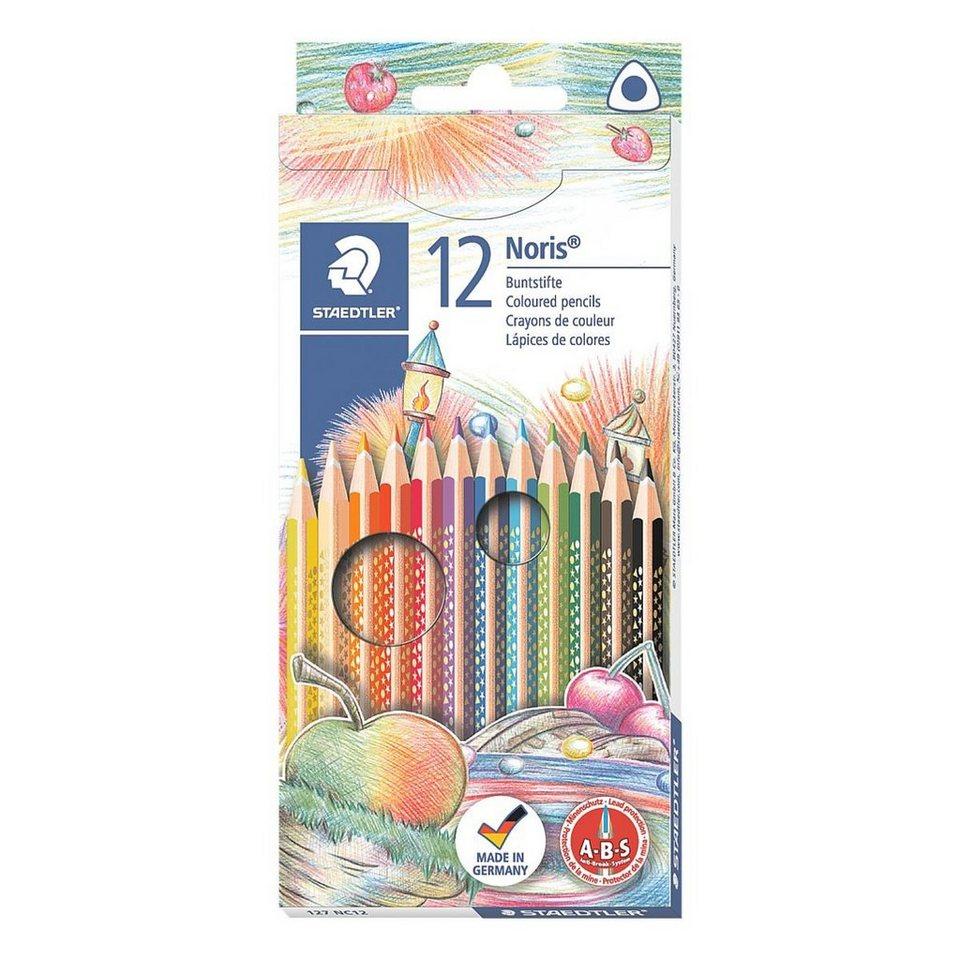 Staedtler 12er-Pack Buntstifte »triplus«