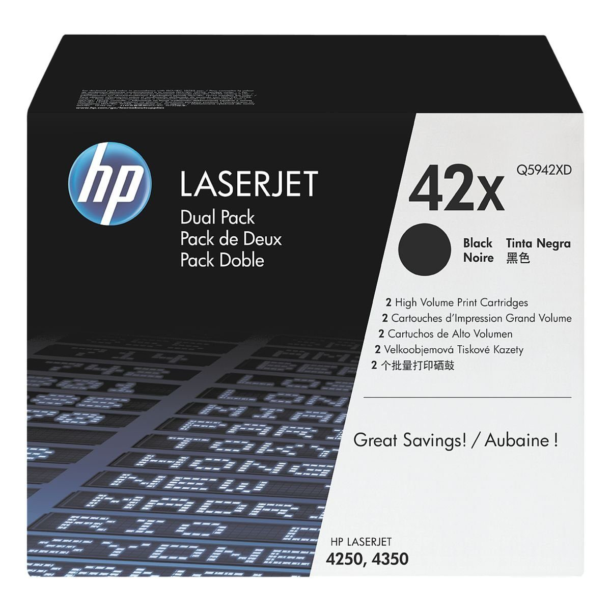 HP Doppelpack Druckkassette »HP Q5942XD« HP 42A