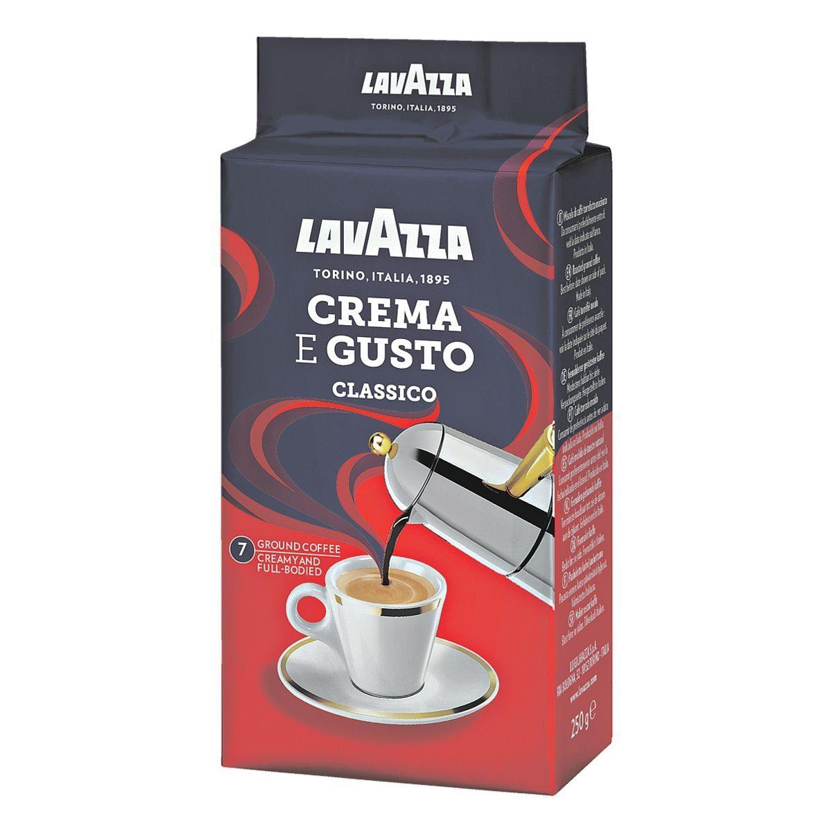 Lavazza Espresso - gemahlen »Crema e Gusto«