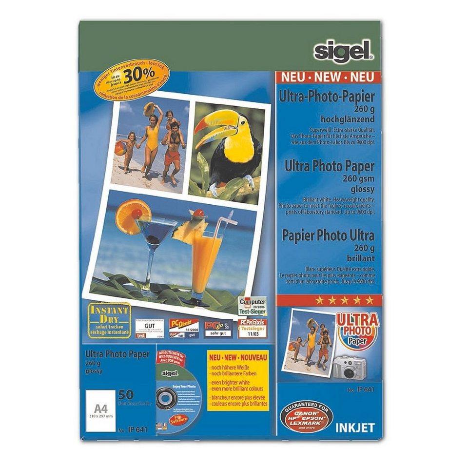 Sigel Foto Inkjet-Papier »Ultra«