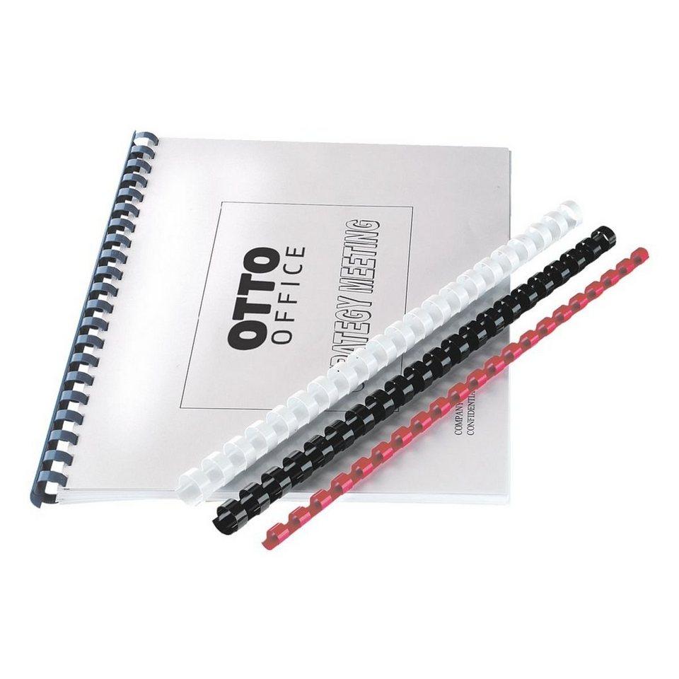 OTTO Office Standard Plastikbinderücken in blau