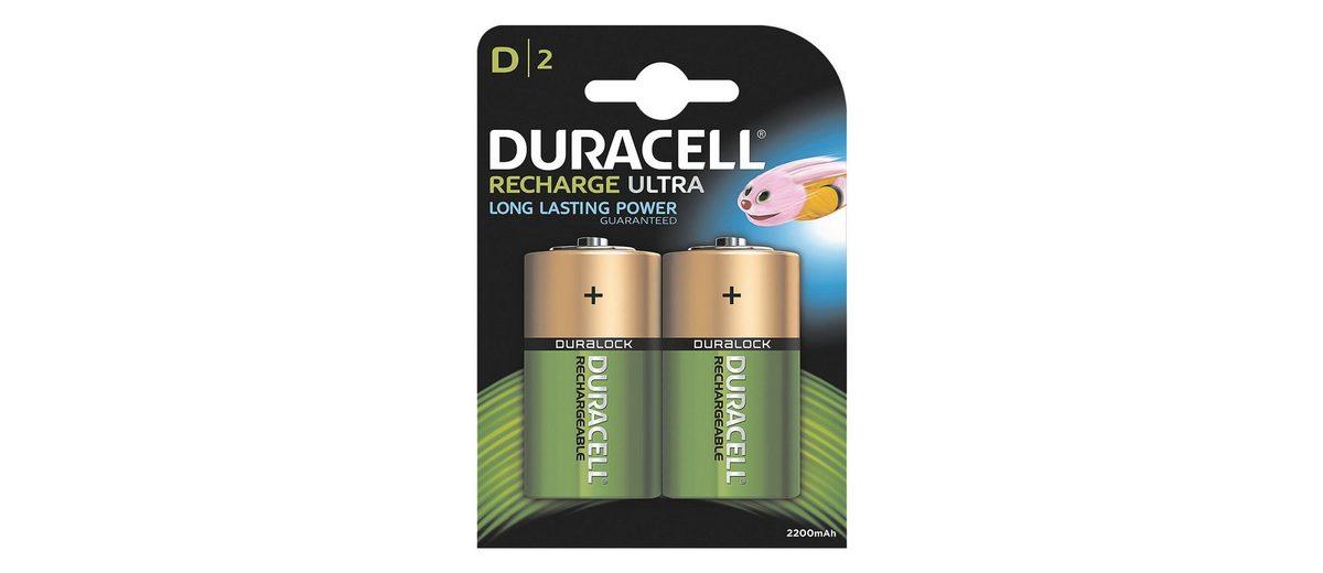 Duracell Akkus »Standard« Mono / D / HR20