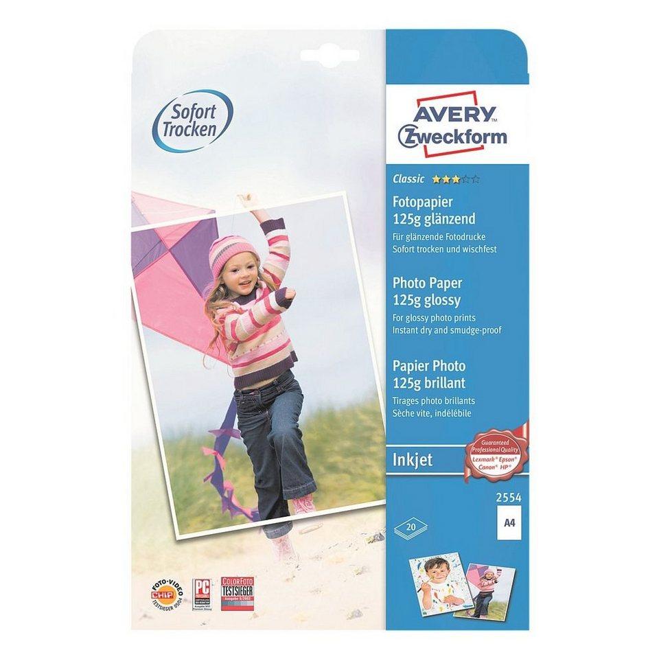 Avery Zweckform Inkjet-Fotopapier