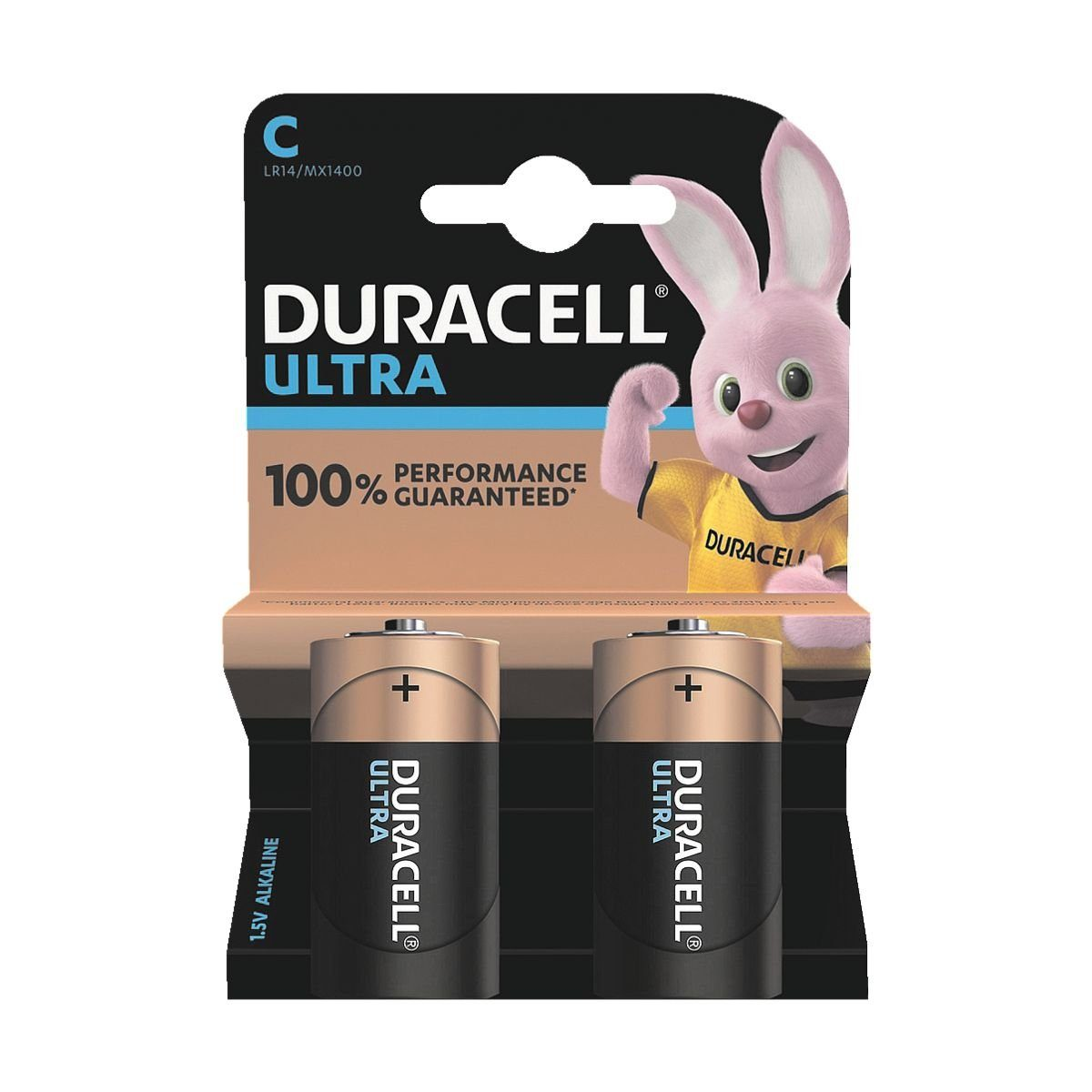 Duracell 2er-Pack Batterien Baby / C / LR14 »Ultra M3«