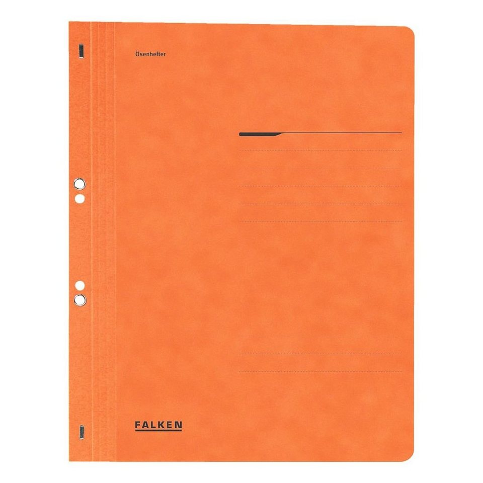 FALKENHIT Ösenhefter in orange