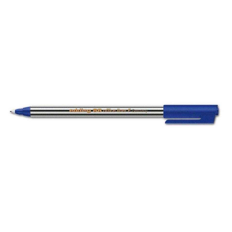 Edding Fineliner »88-F« in blau