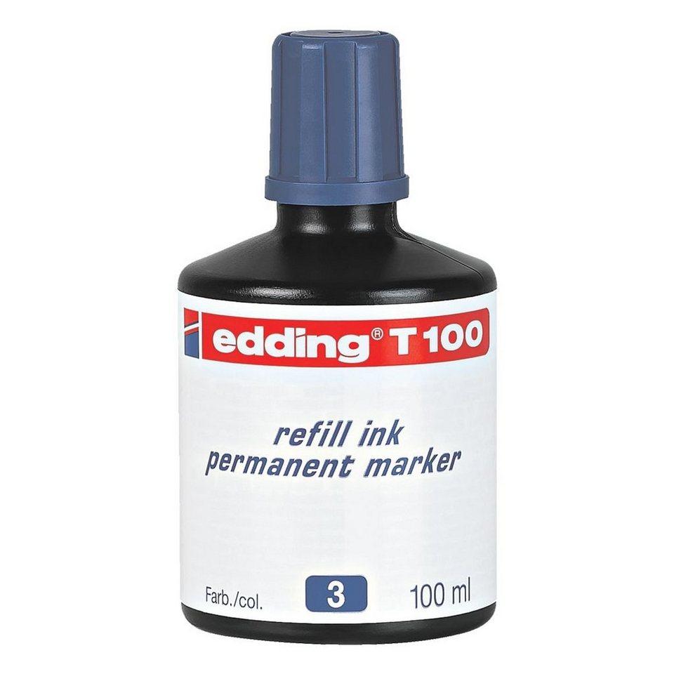 Edding Nachfülltinte »T100« in blau