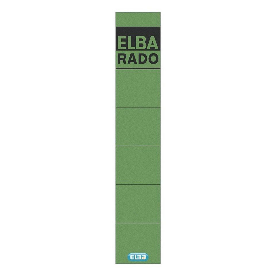 Elba Rückenschilder »rado« in grün