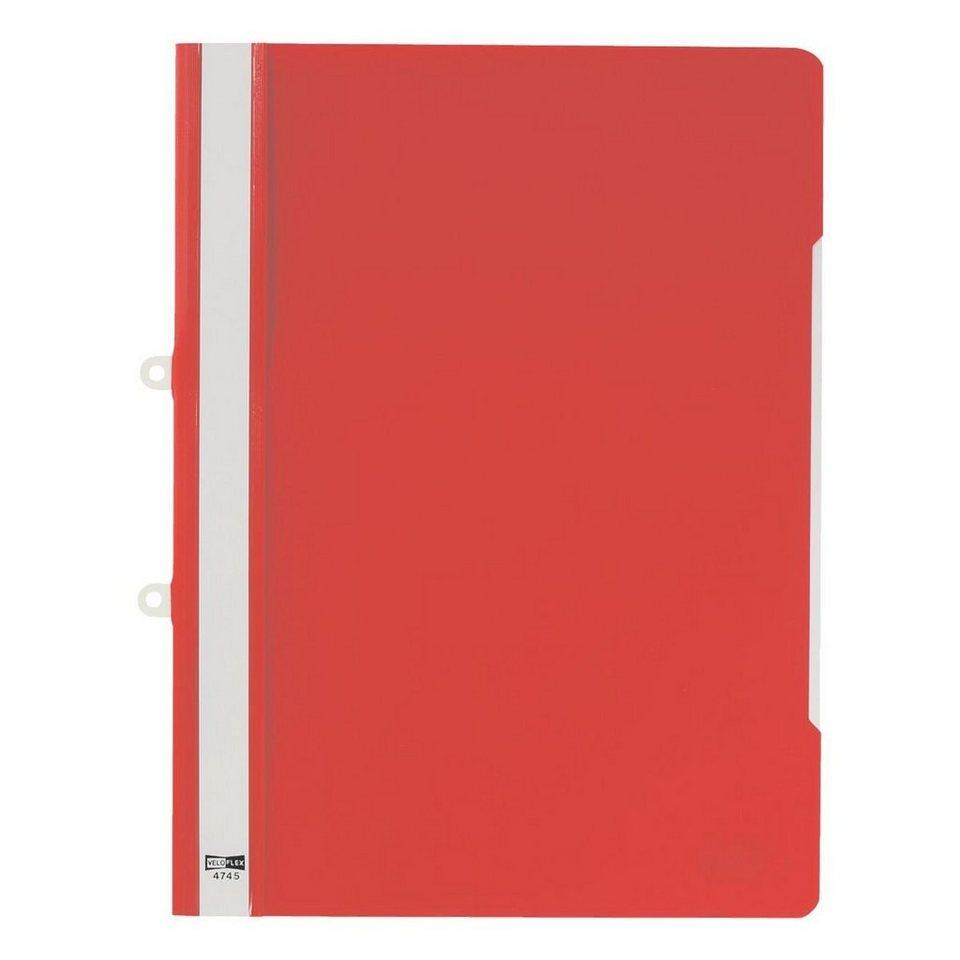 Veloflex Angebotsschnellhefter in rot