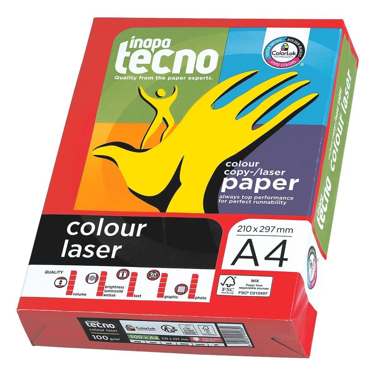 Inapa tecno Farblaserpapier »Colour Laser«