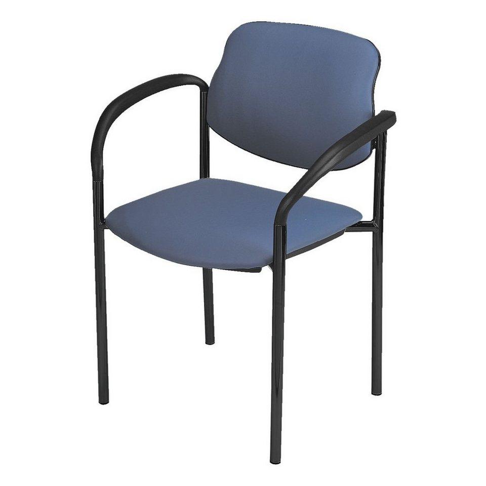 Nowy Styl 2er-Set Besucherstühle »Styl« in blau