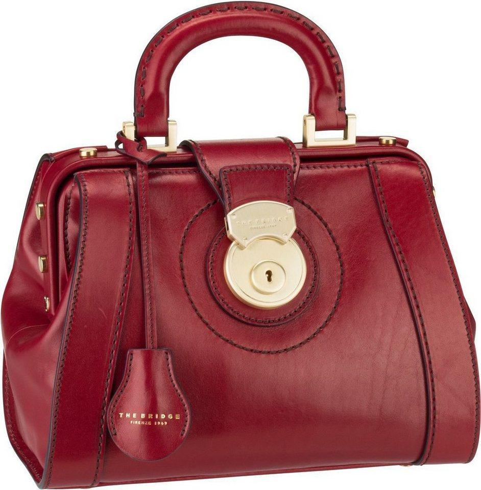 THE BRIDGE Handtasche »Rufina Arzttasche 3018« | Taschen > Business Taschen > Arzttaschen | Rot | Metall | THE BRIDGE