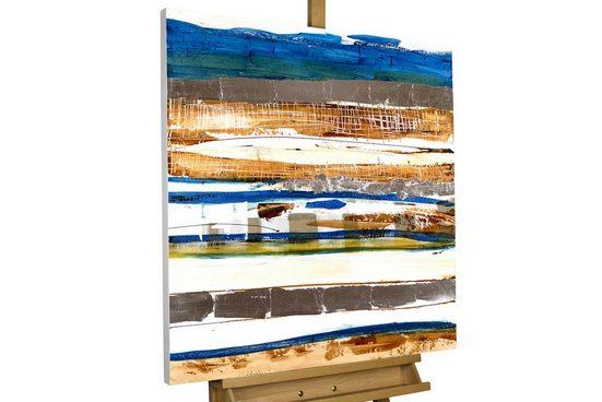 KUNSTLOFT Gemälde »Im Einklang der Gezeiten«, handgemaltes Bild auf Leinwand