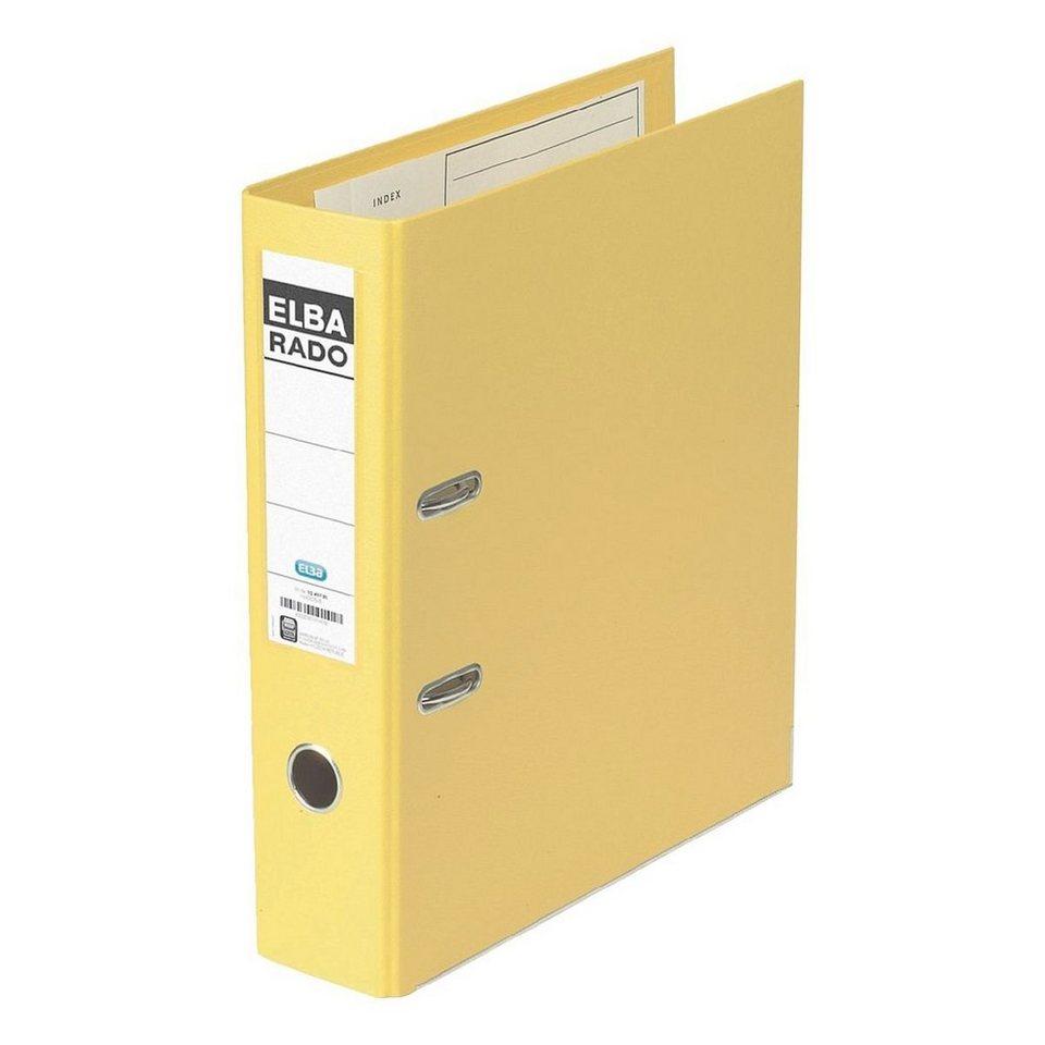 Elba Ordner »rado-plast« in gelb