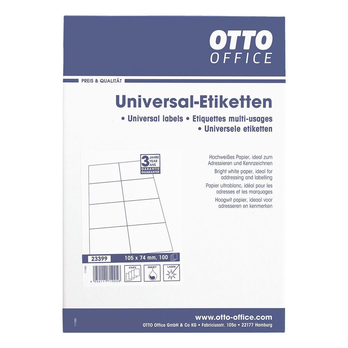 OTTO Office Standard 800er-Pack Universal Klebeetiketten