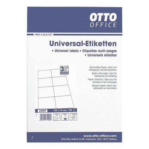 OTTOOFFICE STANDARD 800er-Pack Universal Klebeetiketten